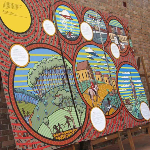 Ashfield Commemorative Mural