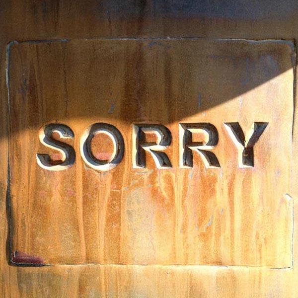 SORRY bin